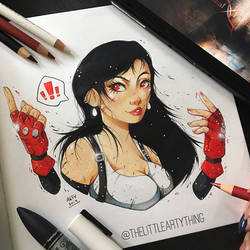 Tifa Lockhart by TheLittleArtyThing
