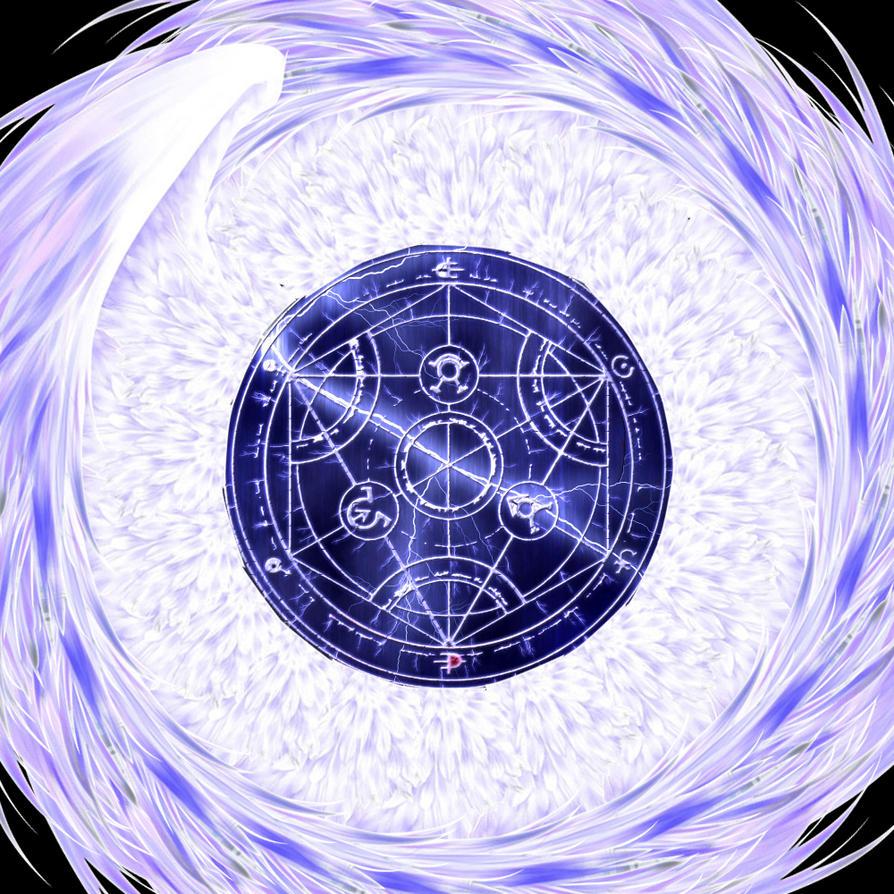 Alchemy Circle Wallpaper