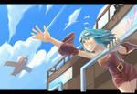 Vaalkaaren [Sky Pirate] by Gekigengar