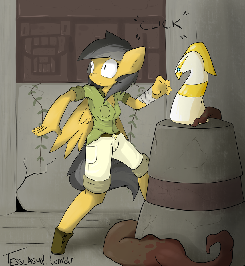 Daring Do and the Ivory Eagle by TesslaShy