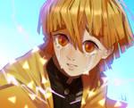 Don't cry Zenitsu