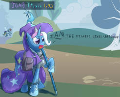 I AM the highest level unicorn! by DarkFlame75