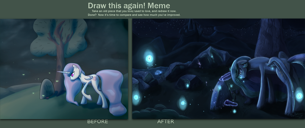 Never Again Draw It Again Meme by DarkFlame75
