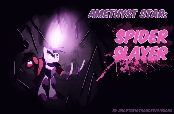 Amethyst Star: SPIDER SLAYER cover by DarkFlame75