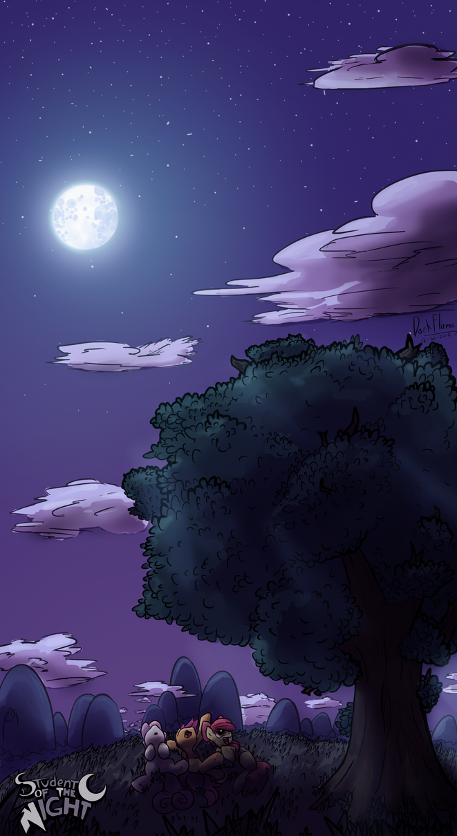 Night Cloudwatching by DarkFlame75