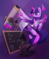 The Patron Saint of Science by DarkFlame75