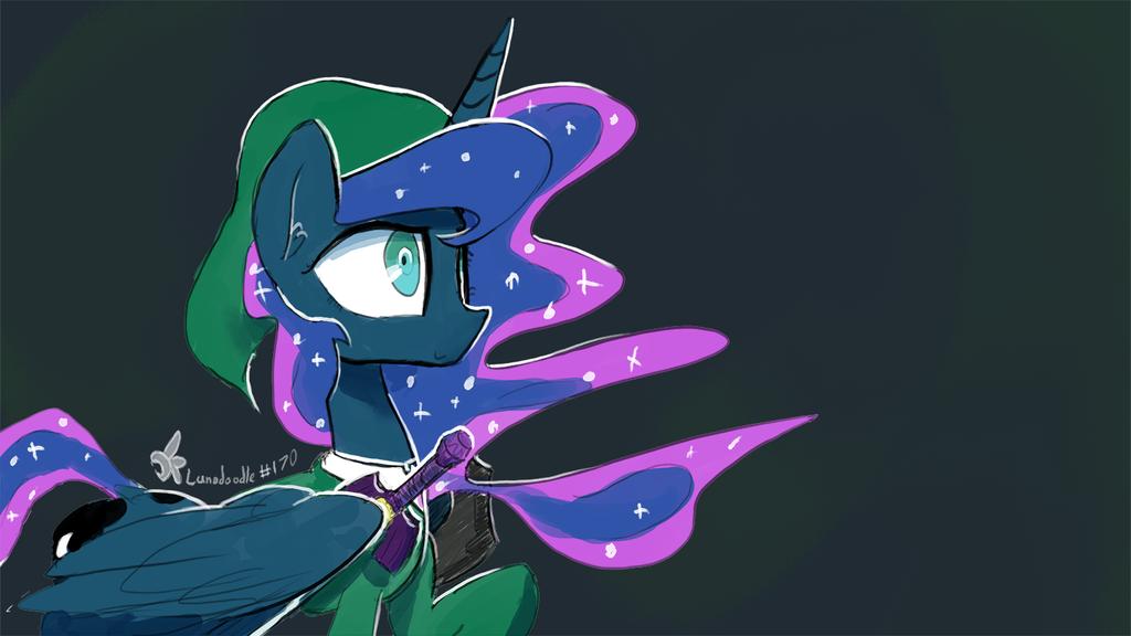 Lunadoodle #170: Lunk by DarkFlame75