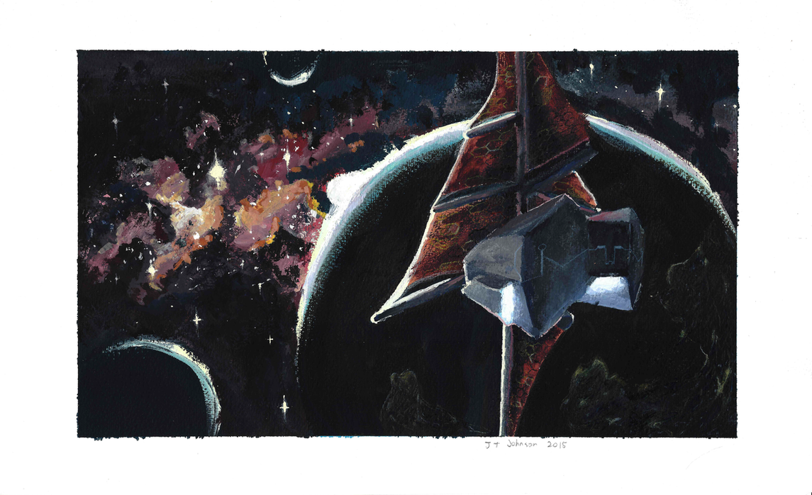 Dark side of the nebula by DarkFlame75