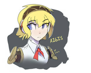 Aigisdoodle by DarkFlame75