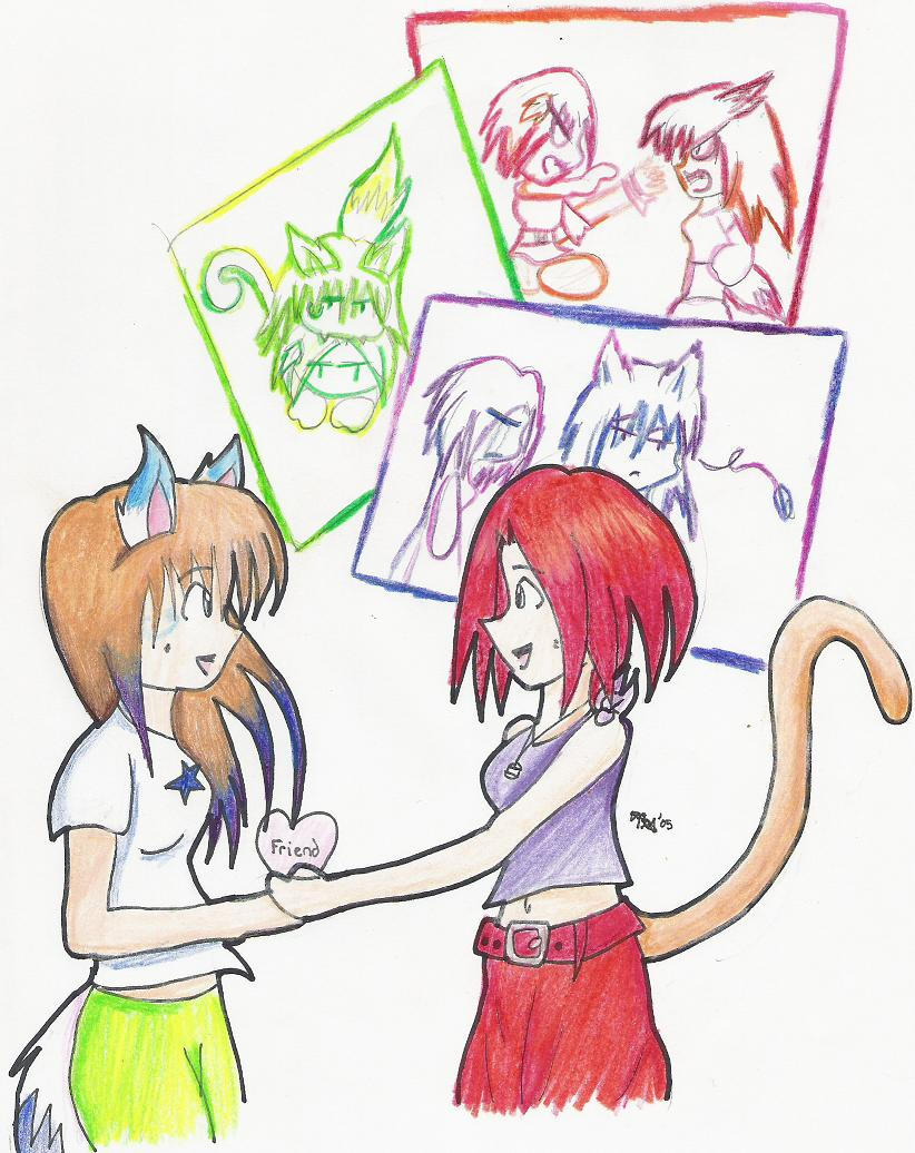 Friends no Matter What by IchigoIkane