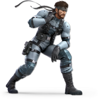 Super Smash Bros. Ultimate - Snake - Render by CynicSonic