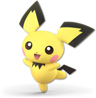 Super Smash Bros. Ultimate - Pichu - Render by CynicSonic