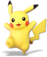 Super Smash Bros. Ultimate - Pikachu - Render by CynicSonic