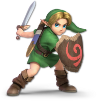 Super Smash Bros. Ultimate - Young Link - Render by CynicSonic