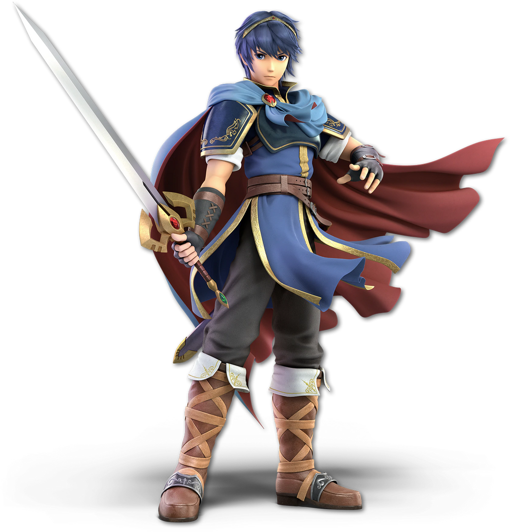 Super Smash Bros. Ultimate - Marth - Render by CynicSonic
