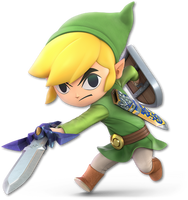Super Smash Bros. Ultimate - Toon Link - Render by CynicSonic