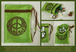 Chalice Well Pouch for Tarot, Dice, Runes etc.