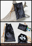 Full Moon Pouch for Tarot, Dice, Runes etc. by ImogenSmid