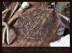 Cernunnos Altar Cloth: Celtic Pagan Horned God