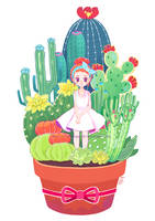 Bloom in Adversity by littlemisspaintbrush