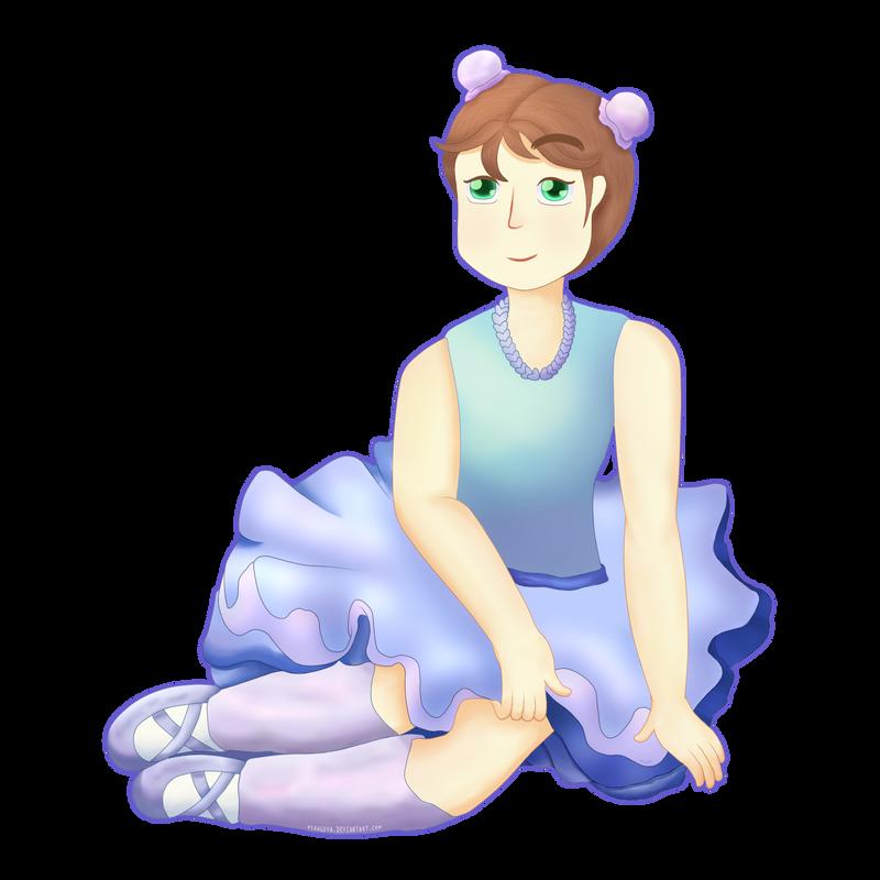 Ballerina by pikaluva