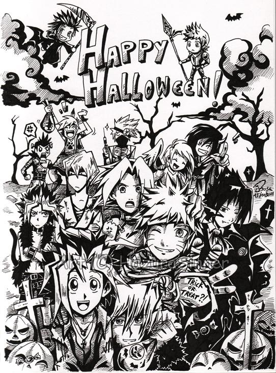 Halloween 2007 by HazuraSinner
