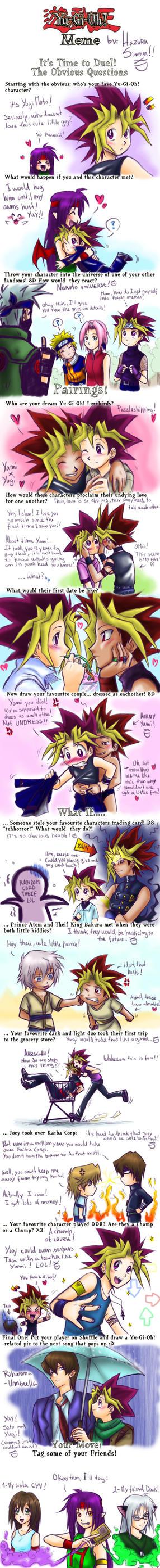 YGO Meme by HazuraSinner