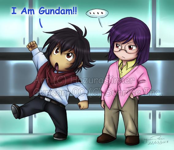 G00: I am Gundam by HazuraSinner