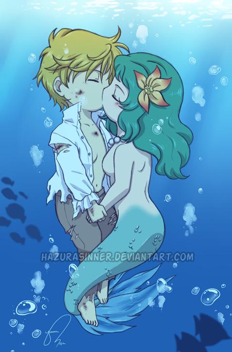 Mermaid Kiss by HazuraSinner on DeviantArt