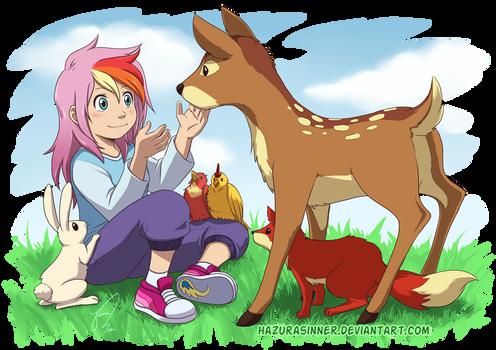 Friend of Nature by HazuraSinner