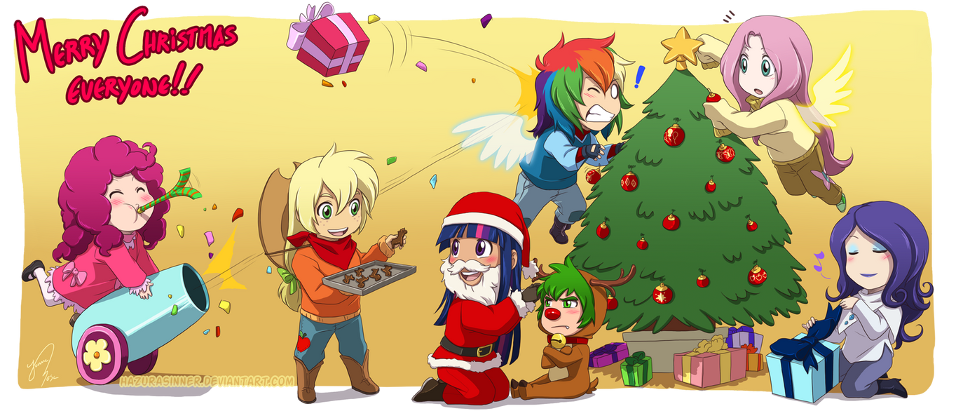 Christmas 2011 by HazuraSinner