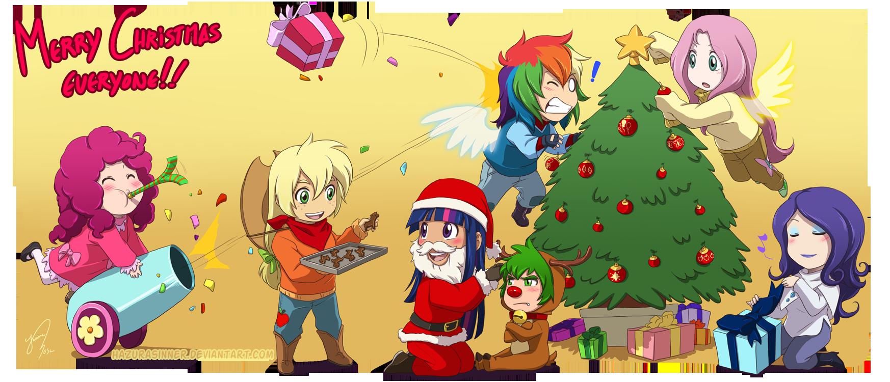 Christmas 2011 by HazuraSinner