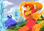 Flame Prince VS Ice Queen