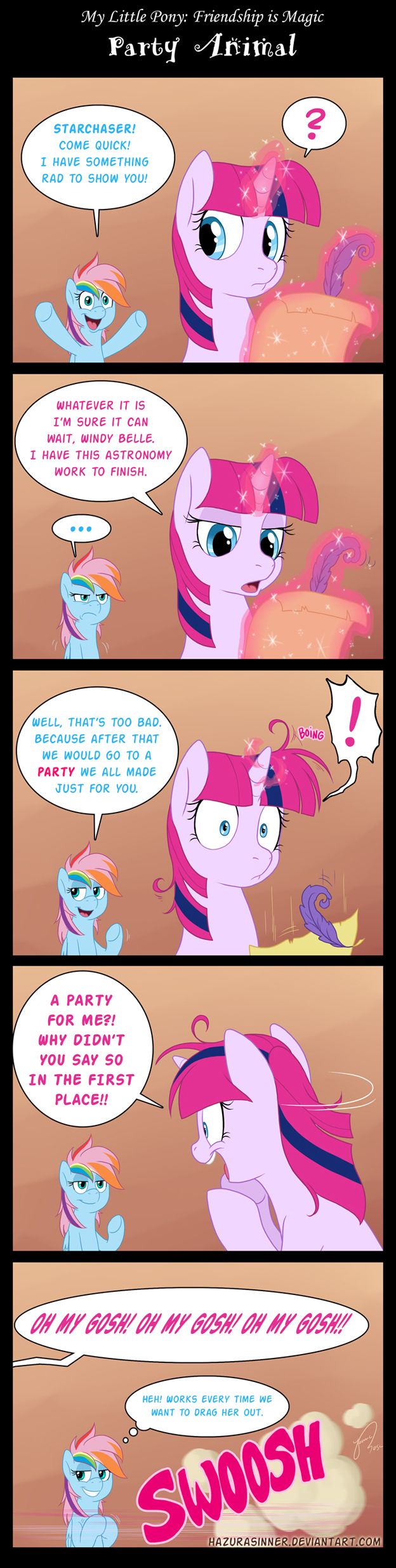 Party Animal by HazuraSinner