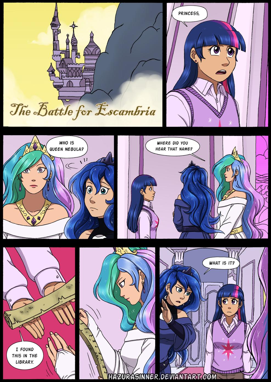 Comic Commission 1 by HazuraSinner