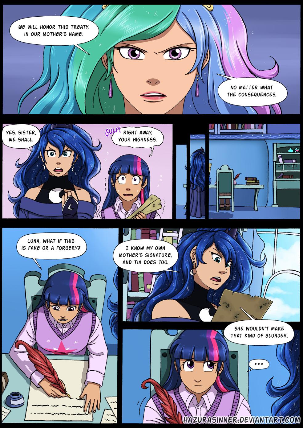 Comic Commission 3 by HazuraSinner