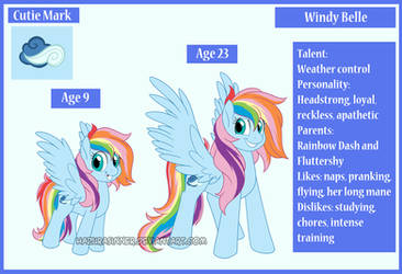 MLP Next Generation Windy Belle by HazuraSinner