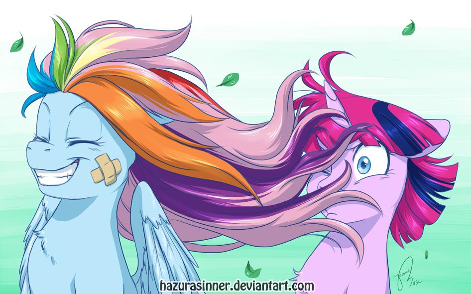 Feel that breeze Starchaser! by HazuraSinner