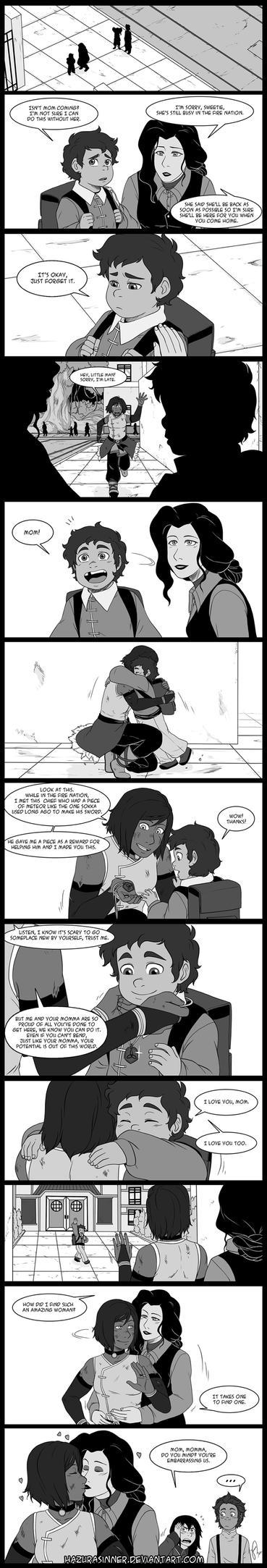 Comic Commission 11 by HazuraSinner