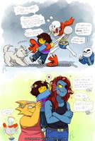Undertale doodles by HazuraSinner