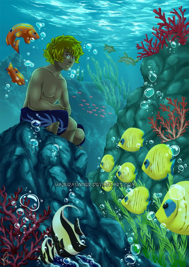 Underwater Meditation by HazuraSinner