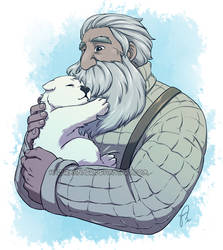 Yuri and Ice Bear by HazuraSinner