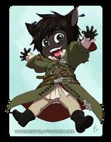 Chibi Commission 142 by HazuraSinner