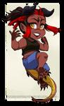 Chibi Commission 145 by HazuraSinner