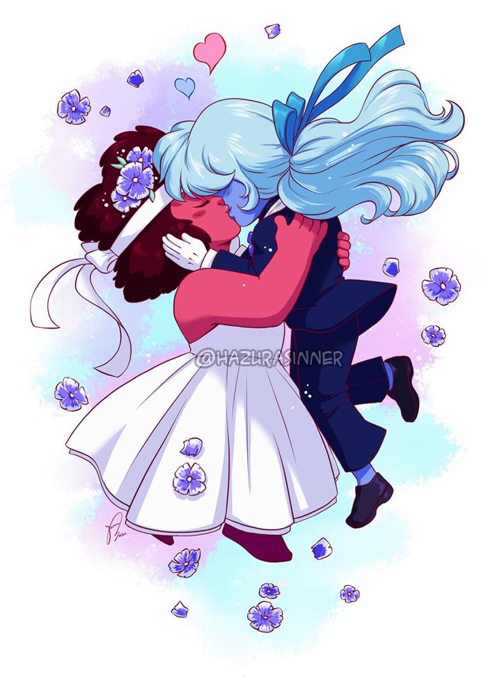 The Kiss by HazuraSinner