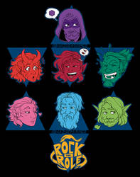 RockandRole  Team Expressions by HazuraSinner