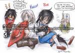 Alucard and Integra kids