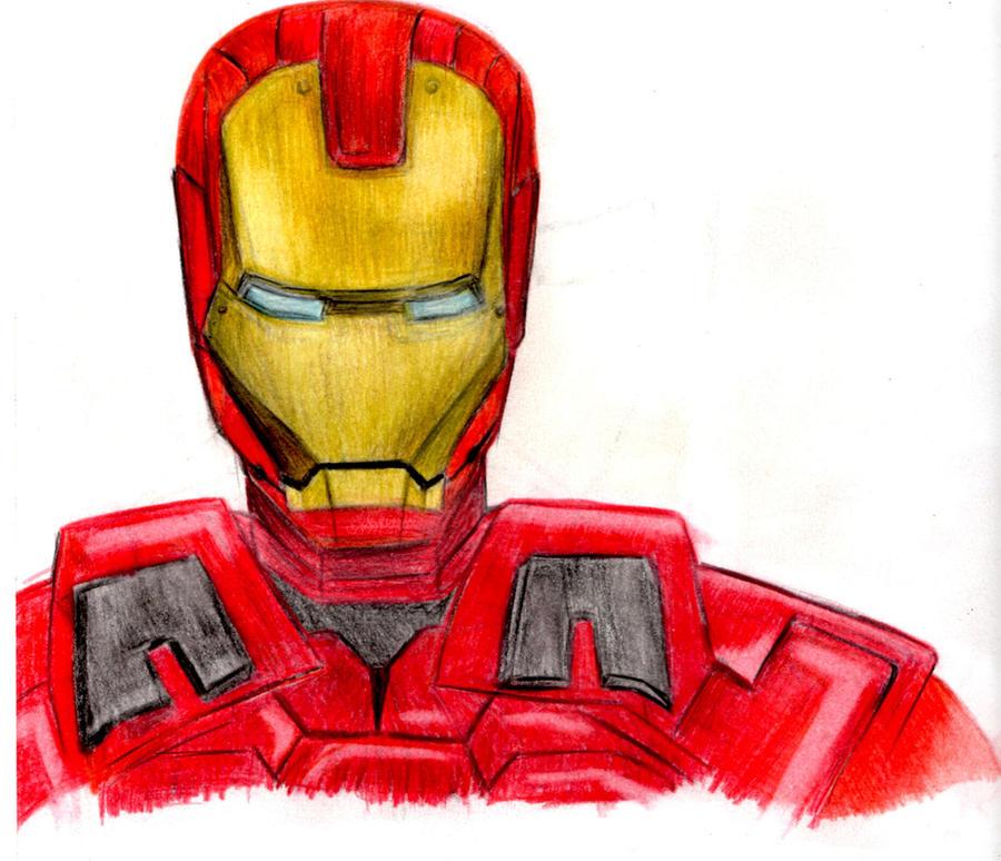 Iron Man by bronzebug
