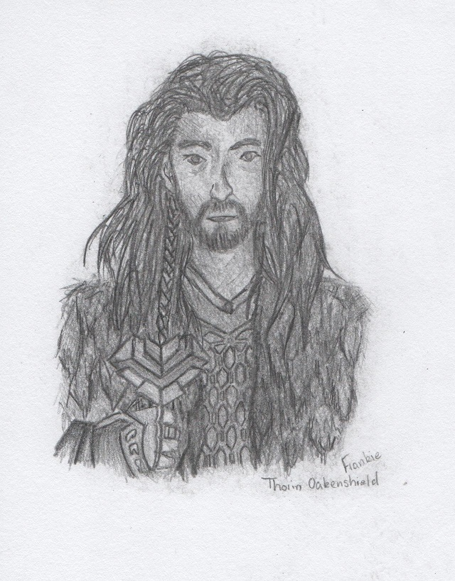 Thorin Oakenshield by bronzebug