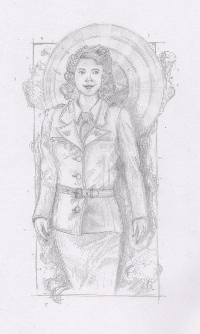 Agent Carter by bronzebug